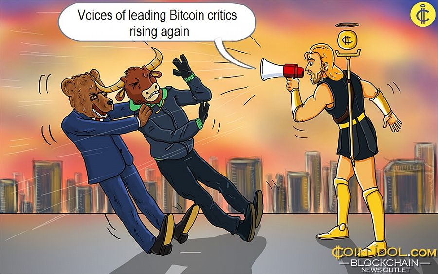 Voices of leading Bitcoin critics rising again