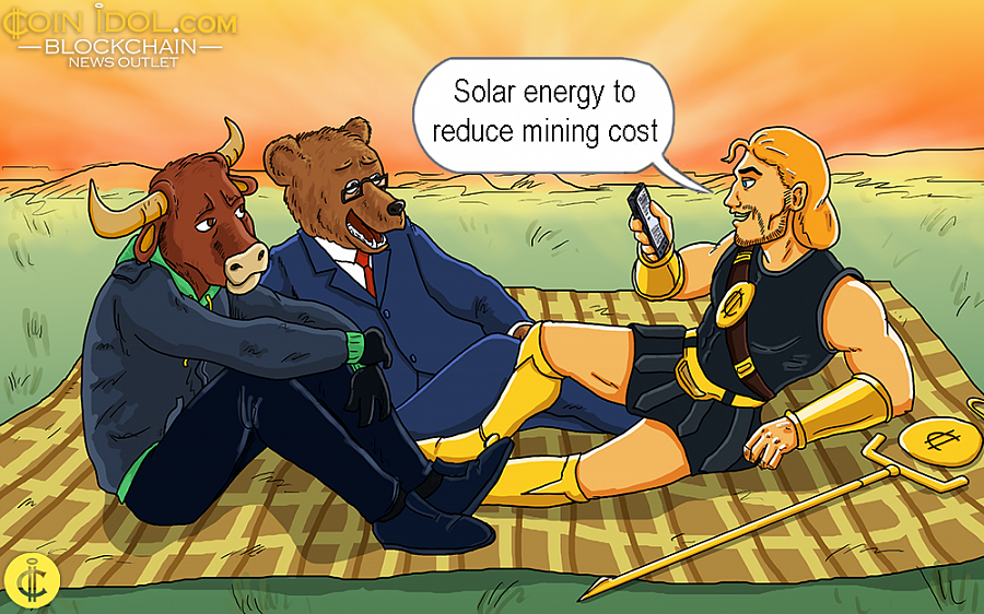 Sustainable systems such as solar energy can solve the problem by introducing ecologically clean energy for bitcoin mining.