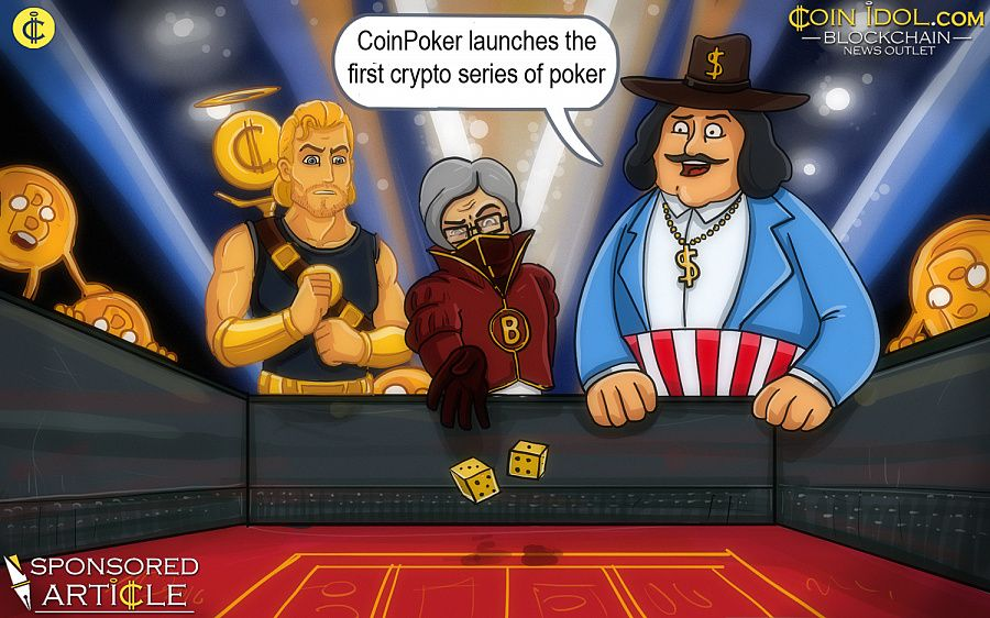 CoinPoker launches the first crypto series of poker