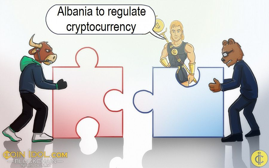 Albania to regulate cryptocurrency