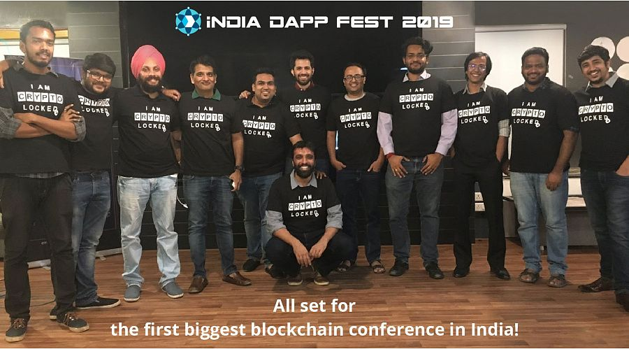 It is the first ever blockchain conference that is taking place at such a huge level in India.