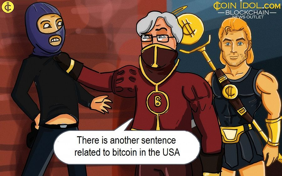 There is another sentence related to bitcoin in the USA
