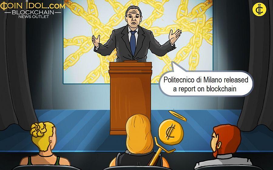 Politecnico di Milano released a report on blockchain