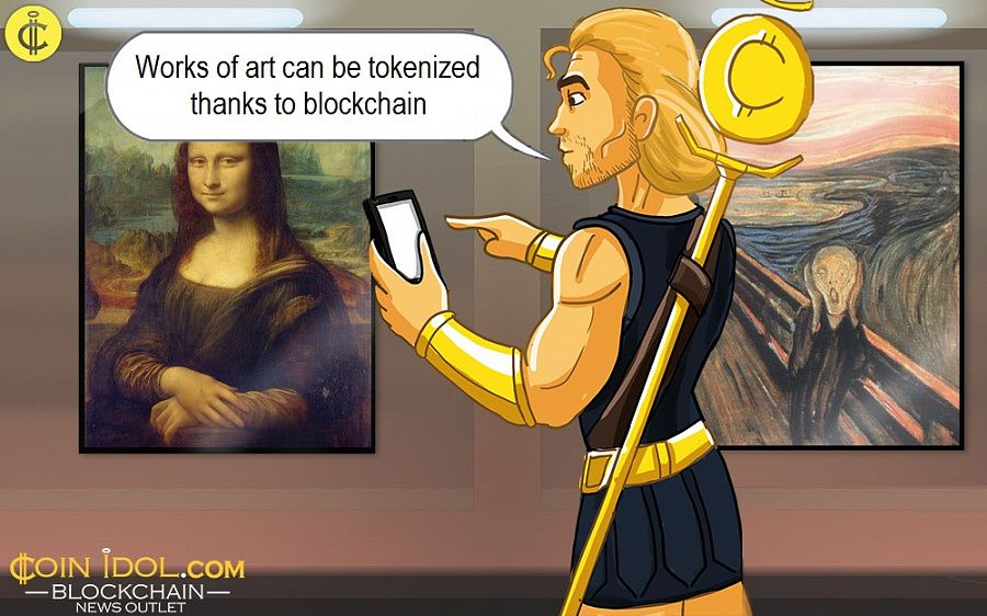Works of art can be tokenized thanks to blockchain