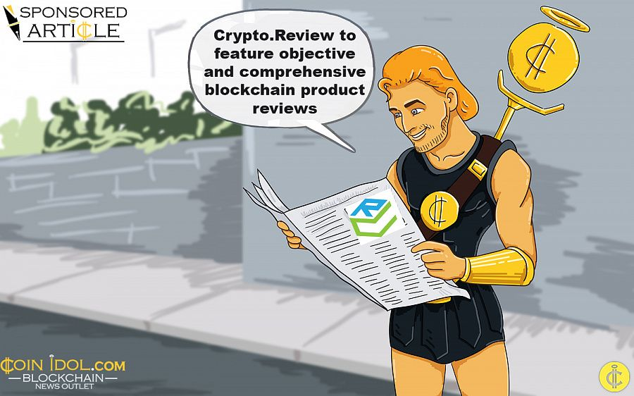 Crypto.Review to feature blockchain product reviews