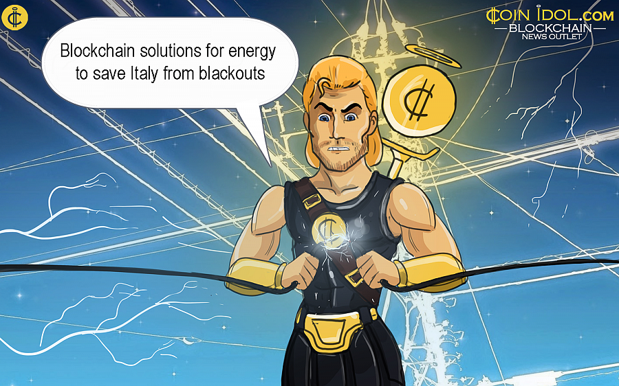 In 2030 Italy risks to experience prolonged blackouts due to the increased demand in renewable sources of energy and blockchain solutions.
