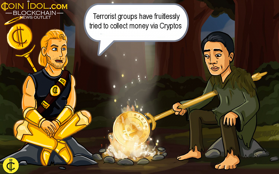 According to Yaya, Cryptos have, by far, been the worst sort of money since they buy weapons and other goods with hard cash in regions with flaky technology infrastructures such as Iraq, Syria and Africa.