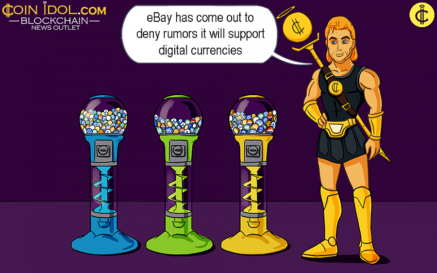 The rumor reports started coming up after a sign at the Consensus 2019 conference alluded a connection between the e-commerce giant and digital currency.