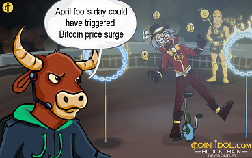 April Fool's Day Could Have Triggered Bitcoin Price Surge