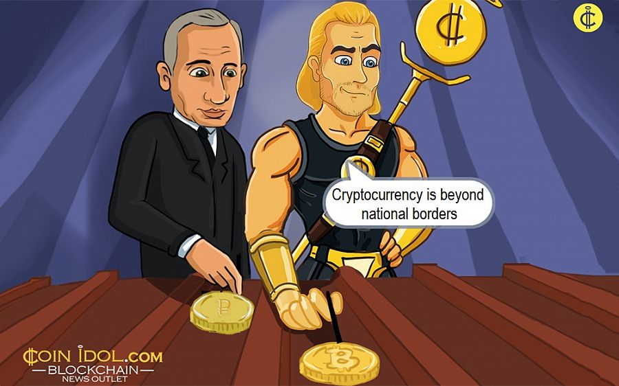 Cryptocurrency is beyond national borders