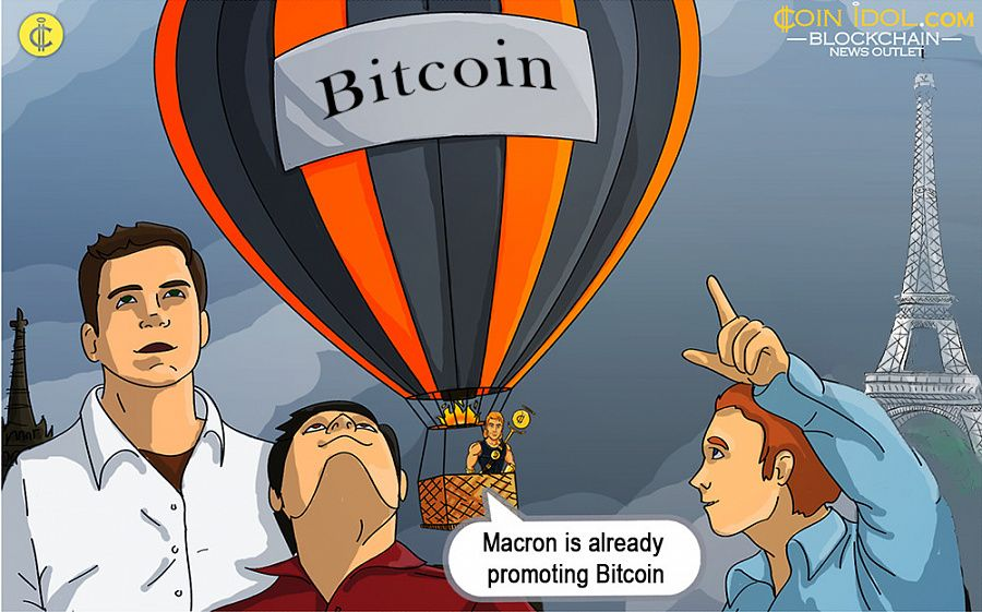 French market players react to news that newly-elected President, Emmanuel Macron, might promote wider adoption of Bitcoin among the people