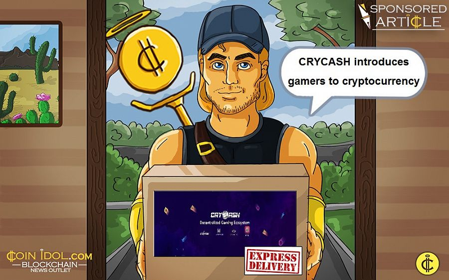 CRYCASH partners CRYTEK