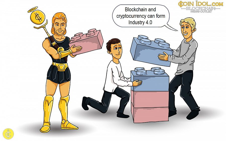 Blockchain and cryptocurrency can form Industry 4.0