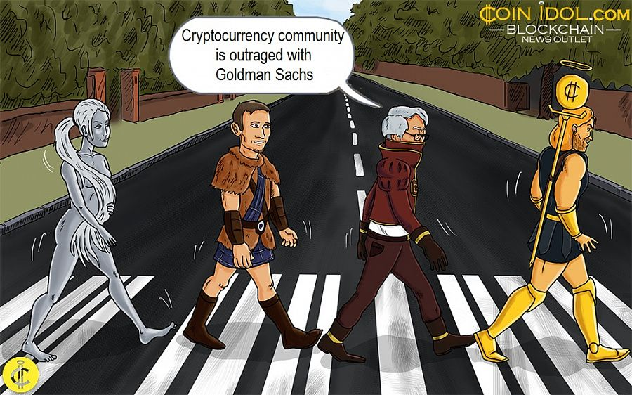 <bold>Goldman</bold> <bold>Sachs</bold>' Negative Opinion Of <bold>Bitcoin</bold> Raises Criticism