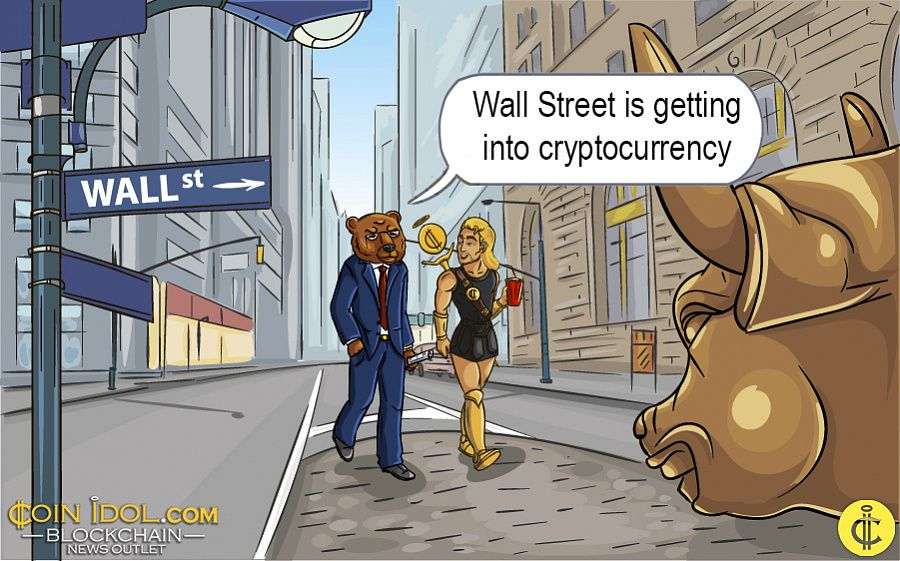 Wall Street is getting into cryptocurrency