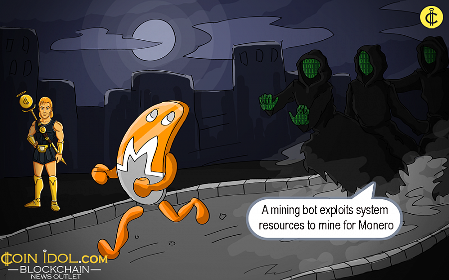 Now, the malware is a digital currency mining bot which exploits system resources to smoothly mine for Monero.