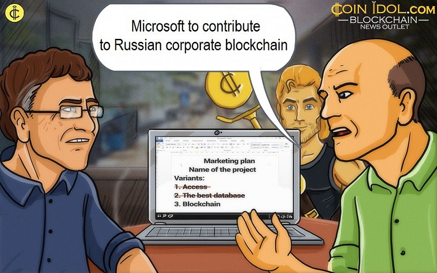 Microsoft to contribute to Russian corporate blockchain