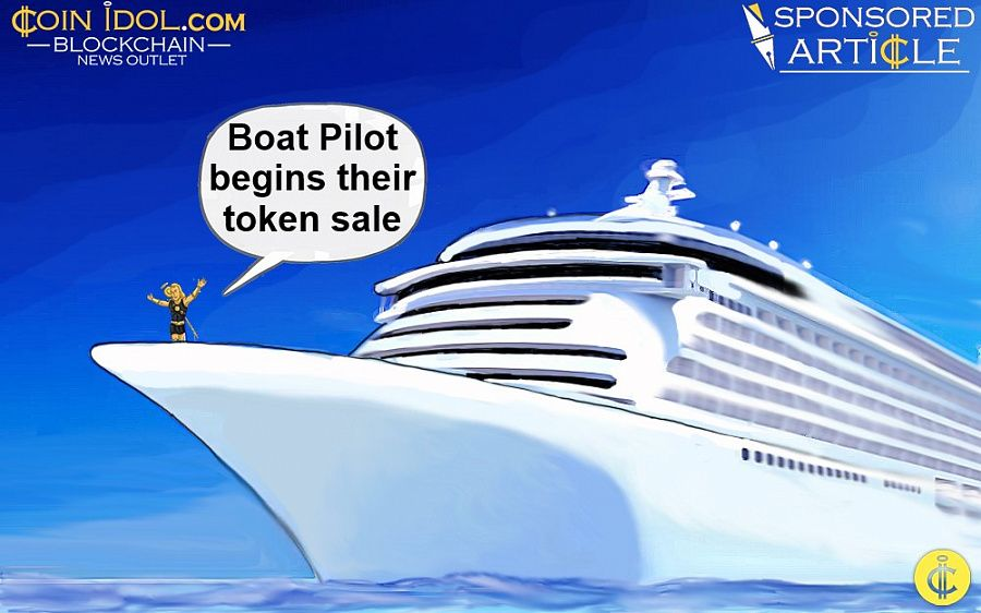 Boat Pilot begins token sale