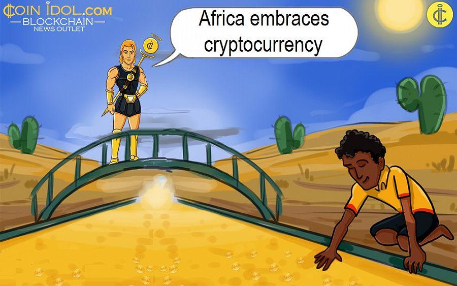 Afrika mencakup mata uang kripto