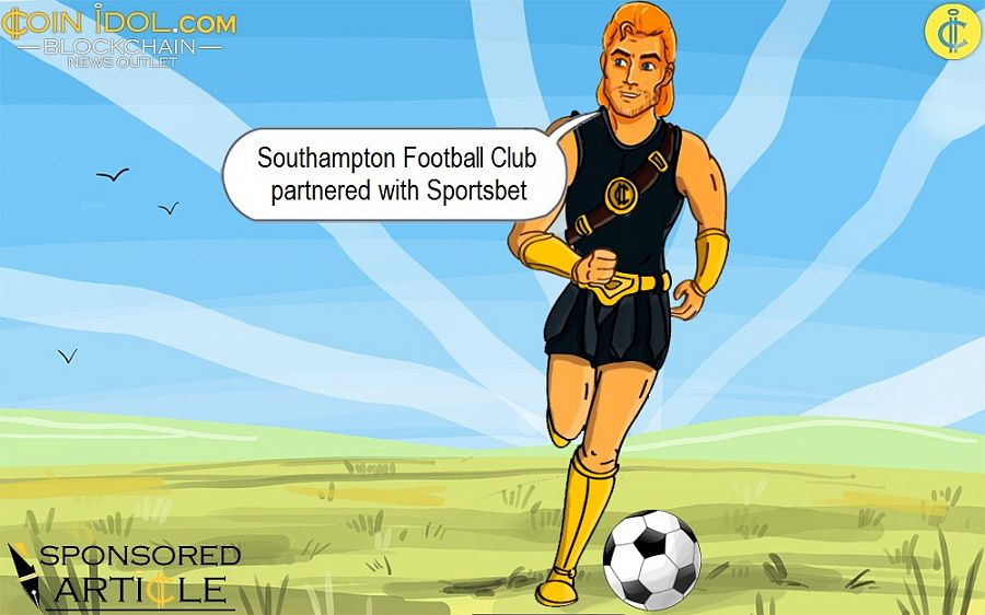 Southampton Football Club partnered with Sportsbet