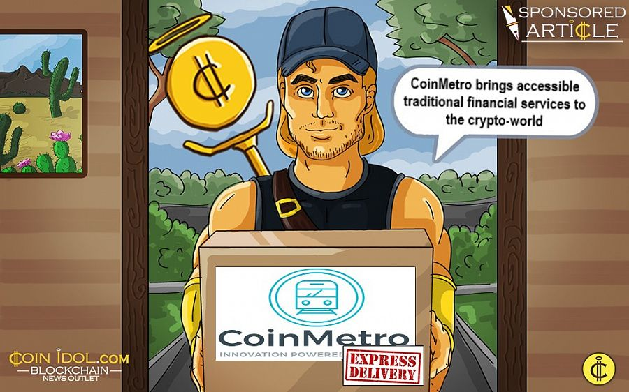 CoinMetro brings financial services to the crypto-world