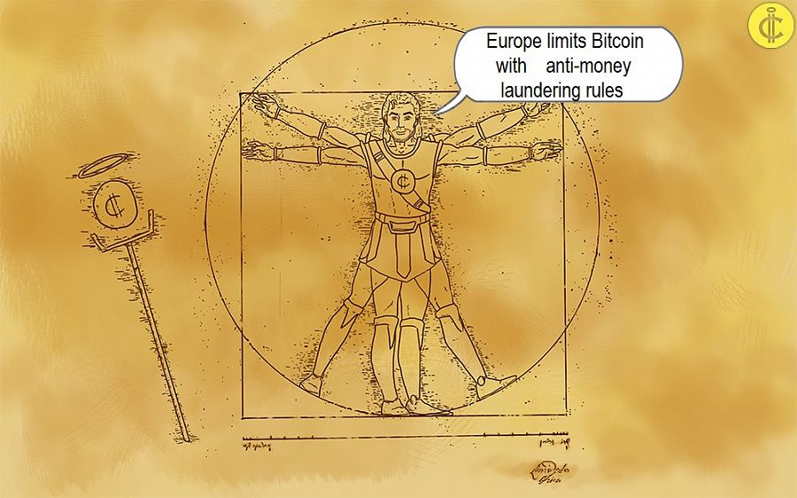 Europe limits Bitcoin with anti-money laundering rules