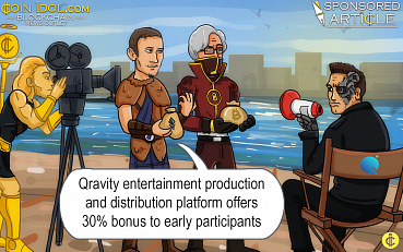 Qravity ICO Presale Goes Live - Blockchain-Based Entertainment Production and Distribution Platform Offers 30% Bonus to Early Participants