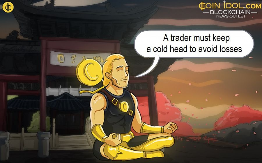 A trader must keep a cold head to avoid losses