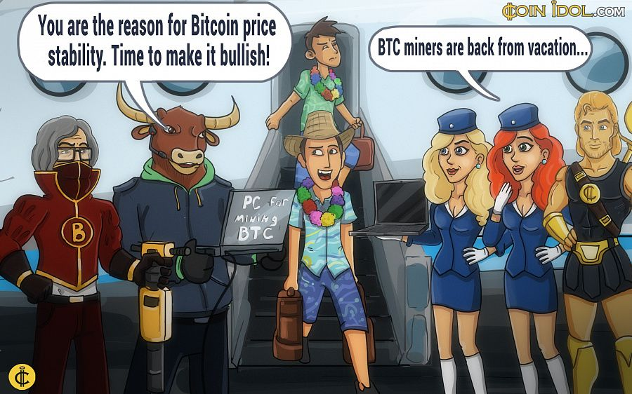 The end of summer — a time when most professional Bitcoin traders are on vacation.