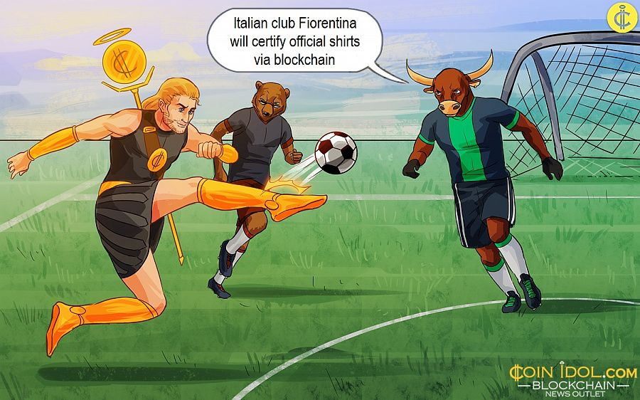 Italian club Fiorentina will certify official shirts via blockchain