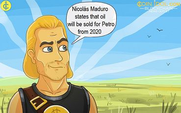 Venezuela Ready to Sell Oil and Gas for Petro Cryptocurrency