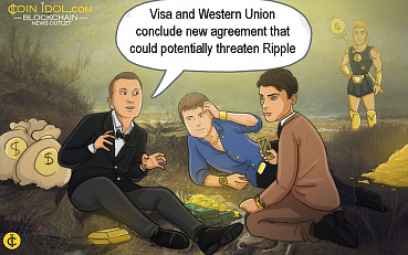 Ripple Could be Threatened by Visa & Western Union Partnership