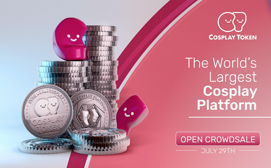 Participants can choose to contribute a minimum of 0.02 ETH (250 COT) either on the Cosplay Token Crowdsale site or purchase via the QRYPTOS exchange.