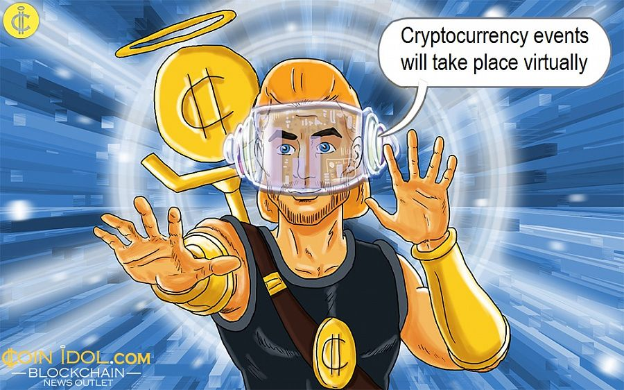Cryptocurrency events will take place virtually