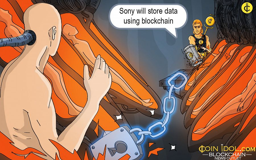 Sony to store data via blockchain