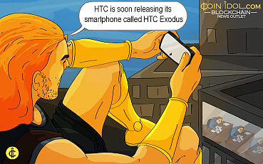 "HTC to Release a Blockchain-powered Device ""Exodus"" this Year, Price and Features Details"