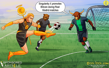 Singularity-X Promotes Bitcoin During Real Madrid, FC Barcelona, and Atlético Madrid Matches