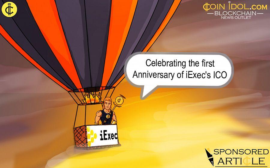 Celebrating the First Anniversary of iExec's ICO Ae718d97c3b4fe0ceb9b88e6314262d6
