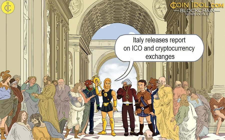 Italy releases report on ICO and cryptocurrency exchanges