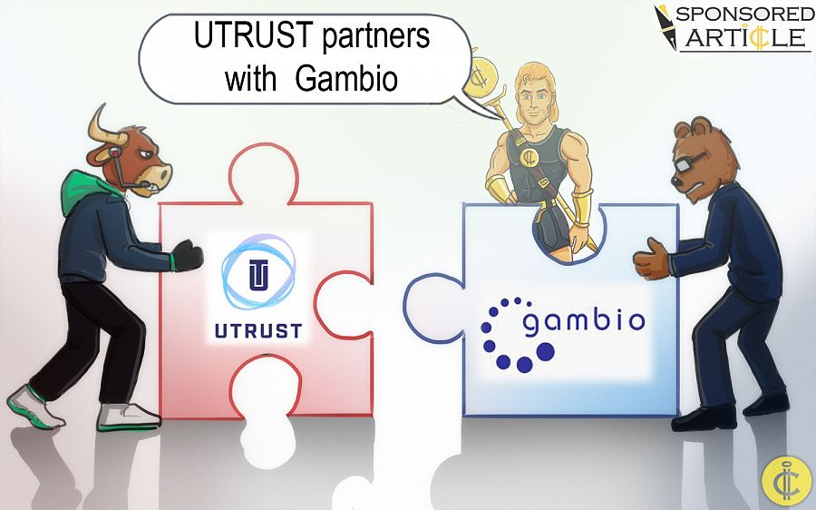 UTRUST partners with Gambio
