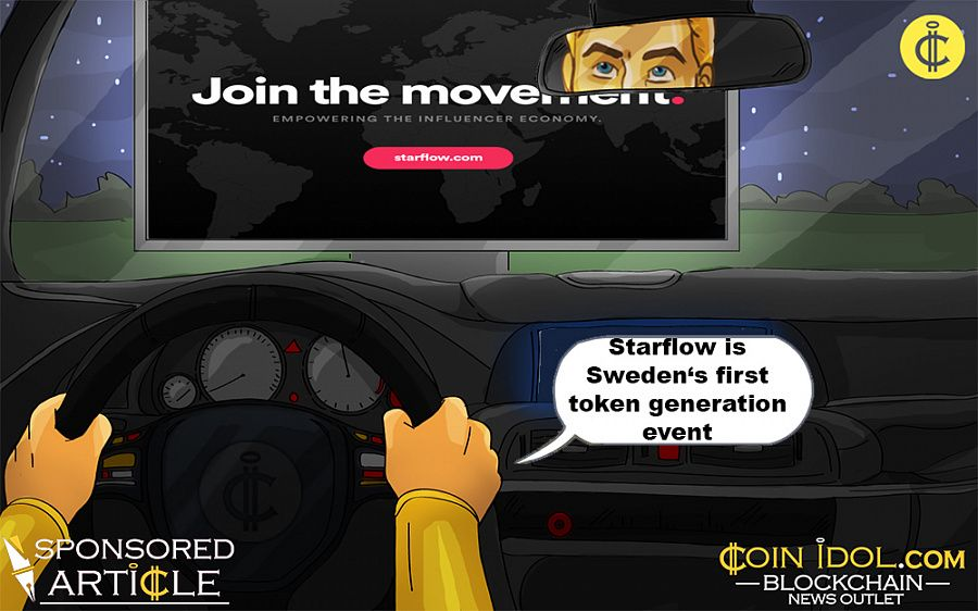 Starflow is Sweden's first token generation event