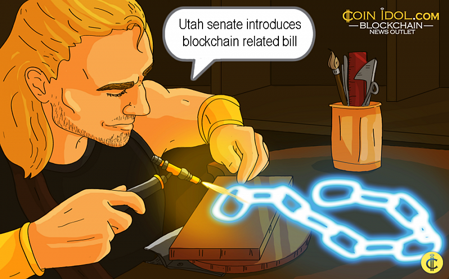 Legislators from the state of Utah, U.S., officially introduced a bill that would prevent blockchain companies from being classified as money transmitters.