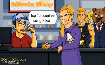 Top 10 Countries Using Bitcoin, Italy is in Fourth Position