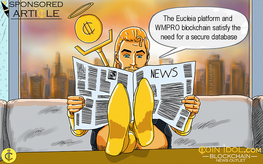 WMPRO announced today that its blockchain-based Eucleia platform, will be a consistent stand-alone service.