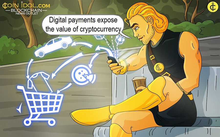 Digital payments expose the value of cryptocurrency