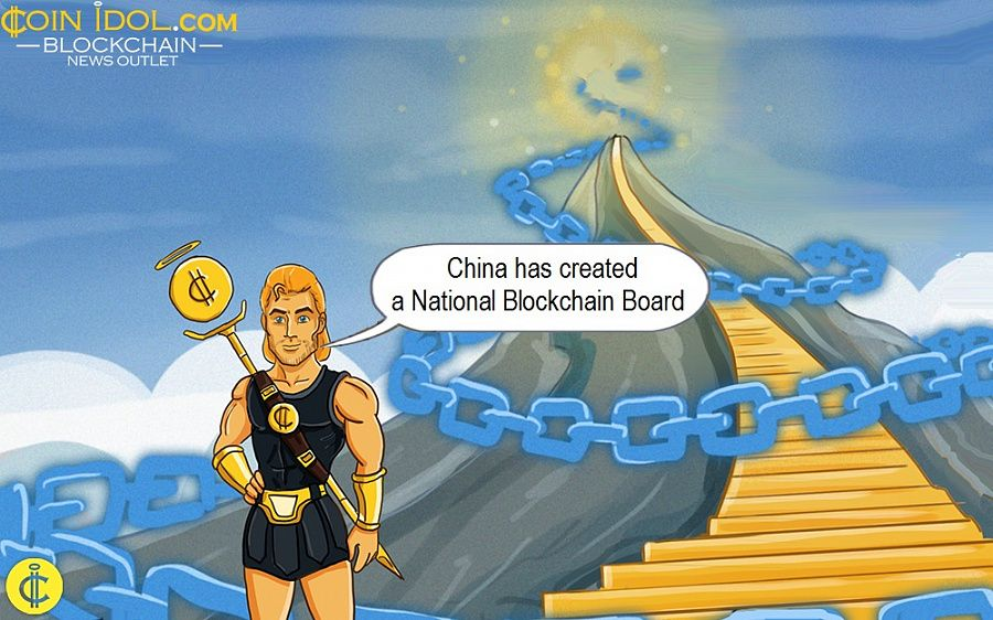 China has created a National Blockchain Board
