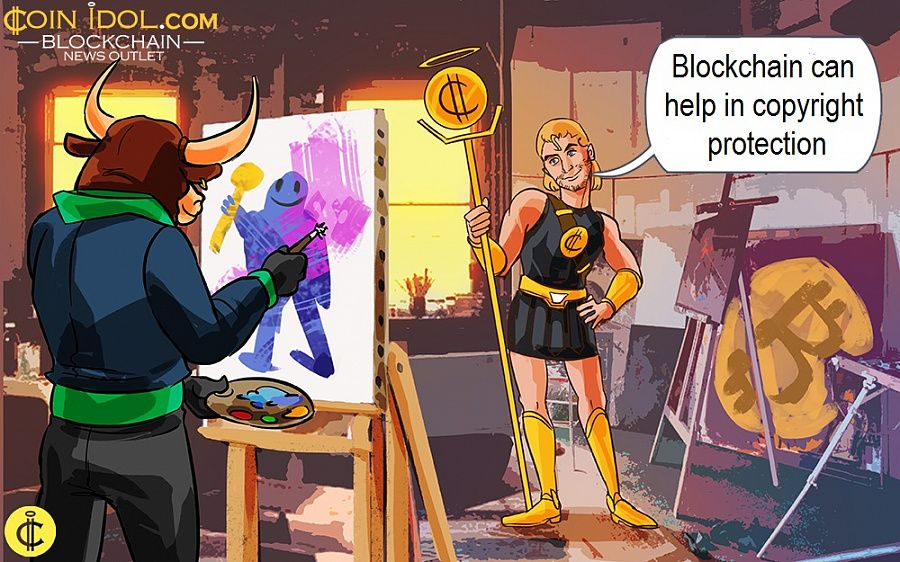 Blockchain can help in copyright protection