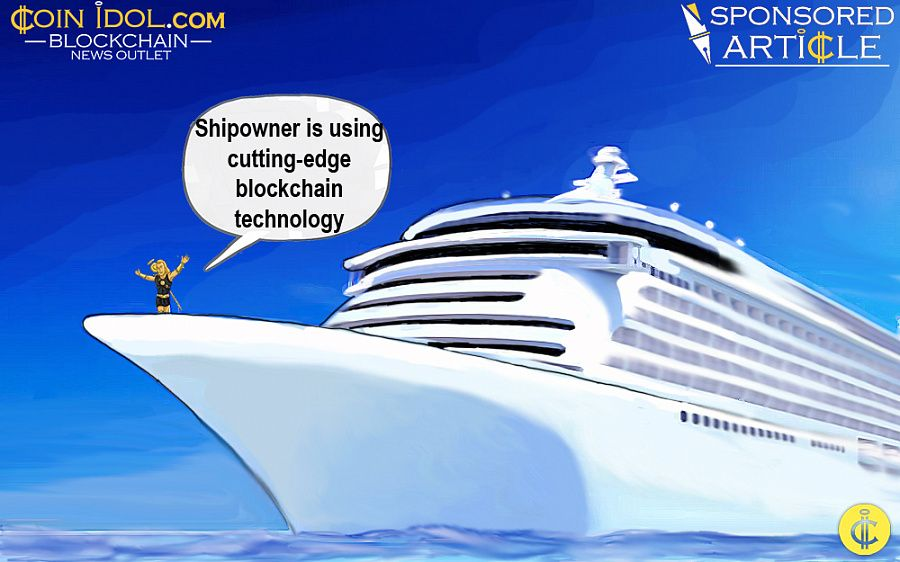 Shipowner is using blockchain technology