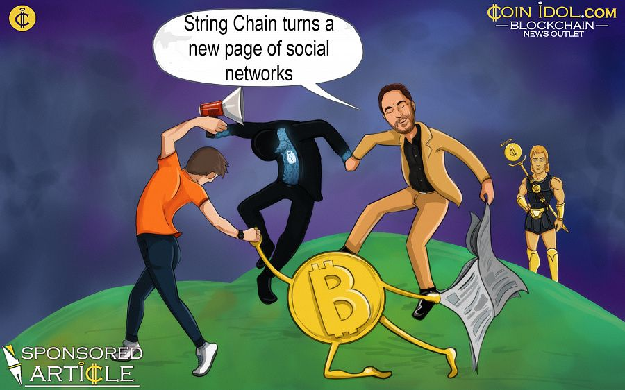 String Chain turns a new page of social networks