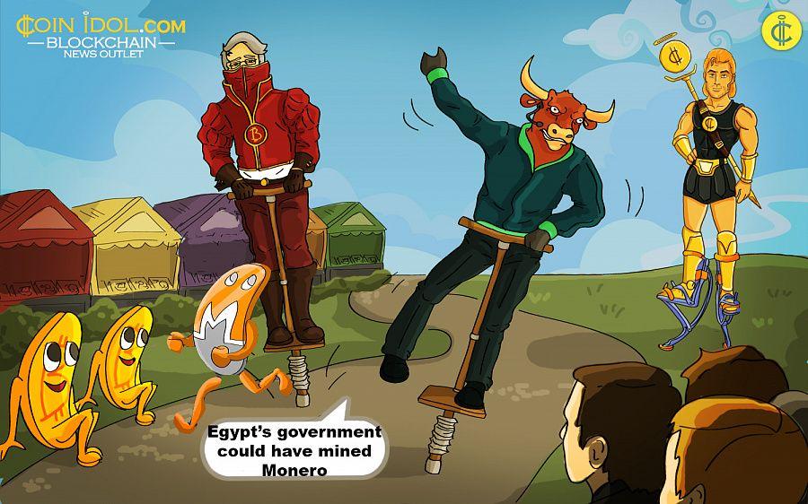 Egypt mines Monero